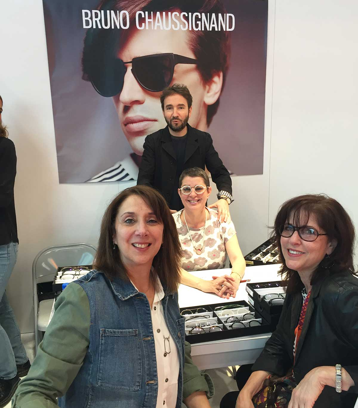 American Vision at the Court shopping for great eyewear at Vision Expo East